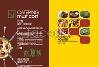 Link toWestern food album design vector graphic s