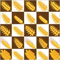 Link toWheat pattern 03 vector