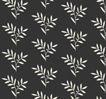Link toWhite branches seamless background vector