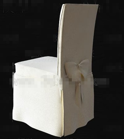 Link toWhite butterfly knot chair 3d model