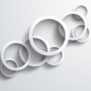 Link toWhite circle background design vector 04 free