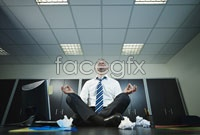 Link toWhite-collar meditation keeping in high definition pictures