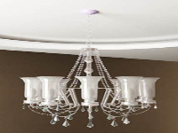 Link toWhite crystal chandelier model