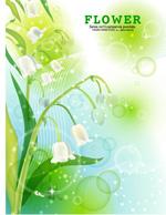 Link toWhite flowers fresh flowers vector