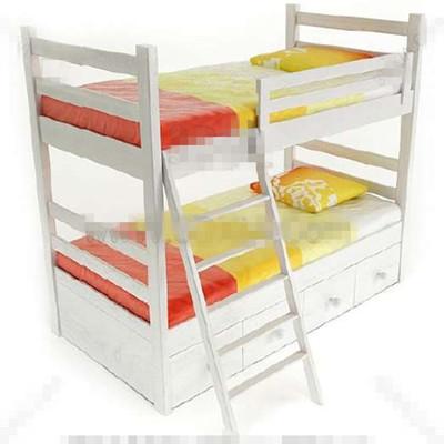 Link toWhite fresh children stacked bed 3d model