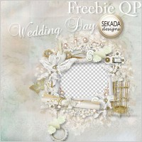 Link toWhite gold birdcage wedding photo frame png