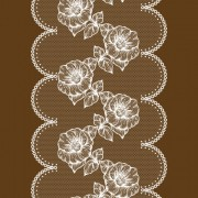 Link toWhite lace with flower design vector free