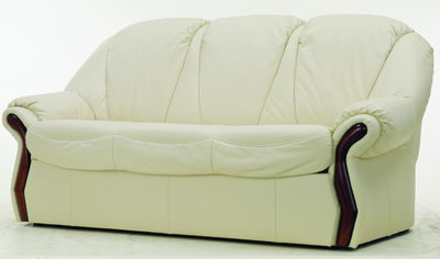 Link toWhite leather sofa 3d model over