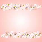 Link toWhite peach background vector