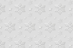 Link toWhite snowflakes seamless background vector