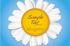 Link toWhite sun flower background vector