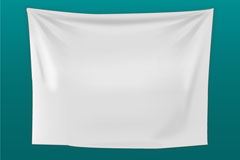 Link toWhite valance background vector