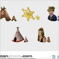 Link toWild west vista icons icons pack