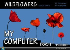 Link toWildflowers dock icons
