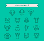 Link toWildlife picture icon vector