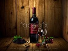 Link topsd opener bottle wine grape posters, advertisement Wine