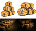 Link toWine barrel psd