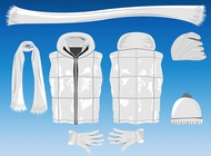 Link toWinter clothing vector free