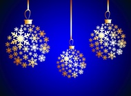 Link toWinter ornaments vector free