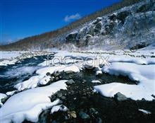 Link toWinter scenery picture material