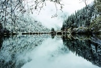 Link toWinter snow lake high definition pictures
