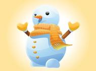 Link toWinter snowman vector free