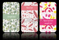 Link toWith its elegant pattern background card vector 1