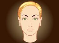Link toWoman face vector free