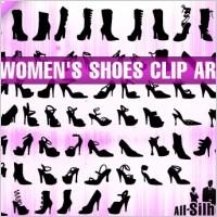 Link toWomen's shoes clipart