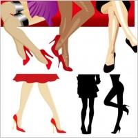 Link toWomen legs vector