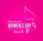 Link toWomen's day greeting card vector