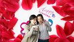 Link toWomen's day rose petals psd