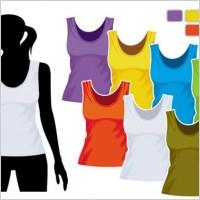 Link toWomen39s vest template 01 vector