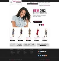 Link toWomens stores opencart theme