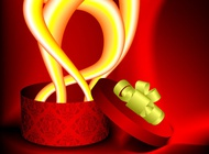 Link toWonderous gift vector free