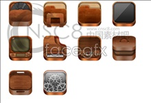 Link toWood box desktop icons