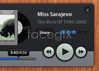 Link toWood music player