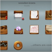 Link toWooden icons icons pack