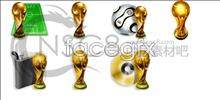 Link toWorld cup football trophy icon