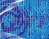 Link toWorld digital background vector