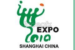 Link toWorld expo 2010 shanghai china logo and theme vector