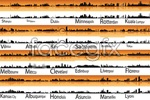 Link toWorld famous cities construction vector