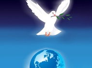 Link toWorld peace poster vector free