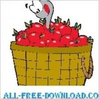 Link toWorm in apple basket
