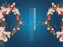 Link toWreath love psd