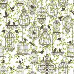 Link toWrought iron bird cage designs vector