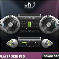 Link toXdj player skin free psd