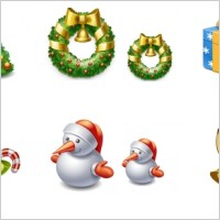 Link toXmas 2009 icon set icons pack