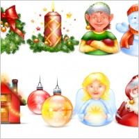 Link toXmas and new year pack icons pack
