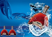 Link toXo wine posters psd free